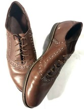 BASS Enfield Women's Oxfords Cocoa Cognac Brown Saddle Shoes Size 9.5M - $47.58