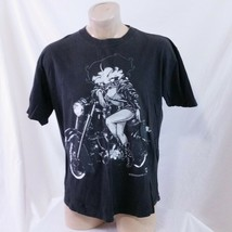 Vintage 1994 Betty Boop Motorcycles T Shirt 90s Single Stitch Biker Cart... - $119.99