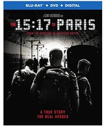 15:17 To Paris [Blu-ray+DVD+Digital, 2018] - $9.95