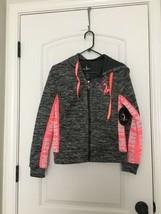 Baby Phat Women's Zip Up ActiveWear Hoodie Athletic Sz M MultiColor Jacket - $70.29