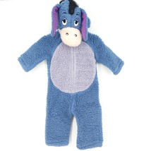 Disney Winnie The Pooh Eeyore Plush Hooded Full Costume Size 12-18 months - $27.12