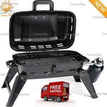 Portable Gas Grill Tabletop Propane Barbecue Burner Outdoor Cooking Camp... - $186.31