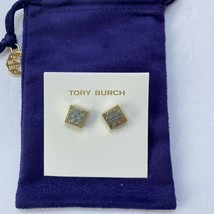 TORY BURCH,Fine polished dual Tone color earrings, plated with 18K gold & silver - $29.99