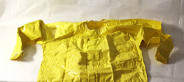 1 FLAME RETARDANT SAFETY OVERALLS THICK YELLOW PVC TYPE 1 CLASS 2 - $8.99