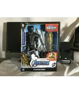 Marvel Avengers Titan Hero Series Blast Gear Deluxe Black Panther 12-Inch Figure - $28.00
