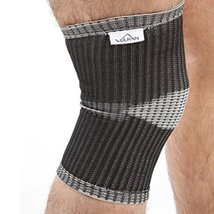 Vulkan Advanced Elastic Black Knee Support - Small (28.5-31cm) - $22.99
