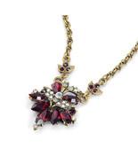 Necklace Pendant Rich Vibrant Red Demi Rialto Brand New Great Gift & Gre... - $22.95