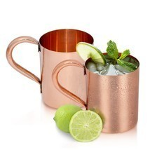 Set of 2-Dungri India Purveyor of the ORIGINAL MOSCOW MULE MUG, 445 ml /... - $39.59