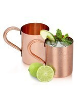 Set of 2-Dungri India Purveyor of the ORIGINAL MOSCOW MULE MUG, 445 ml /... - ₨2,573.83 INR
