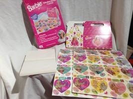 Vintage BARBIE VALENTINE Classroom CARDS NEW IN BOX 1991 Mattel - $9.49