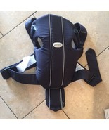 Original Baby Bjorn Baby Carrier Navy Blue Great Condition 8-25 Lbs - $21.29