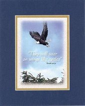 They will soar on wings like eagles . . . 8 x 10 Inches Biblical/Religio... - $11.14