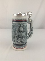 Avon Ceramarte 1982 Vintage Beer Mug Stein Train Age Of Iron Horse - $13.09