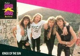 Kings of the Sun trading Card (Musicians) 1991 Proset Musicards Super St... - $3.00