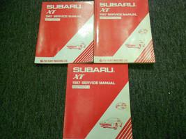 1987 Subaru XT Service Reparatur Shop Manuell Set Fabrik OEM Bücher 87 - $96.99