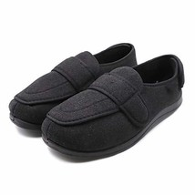 Mens Extra Wide Slippers with Adjustable Closures Diabetic & Edema Arthr... - $71.63