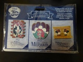 Disney Trading Pins 120030 DS - 30th Anniversary Commemorative Series - 3 Pin Se - $60.78