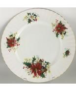 Royal Albert Poinsettia Dinner plate - $35.00