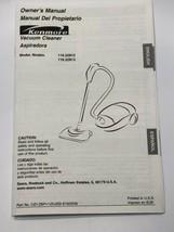 Sears Kenmore Canister Vacuum Cleaner Owner's Manual Models 116.22812, 1... - $171,66 MXN