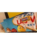 """M & M's AUTHENTIC Welcome To Fabulous Las Vegas Beach Pool New Towel 34""""... - $50.48"""
