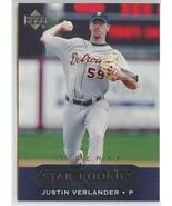 JUSTIN VERLANDER RC 2005 Upper Deck #430 Tigers Baseball Trading Cards MLB - $11.99