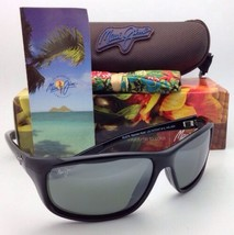 MAUI JIM Sunglasses SPARTAN REEF MJ 278-02 Black Frames w/ Grey Polarized Lenses