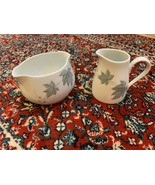 NORITAKE WILD-IVY COOK'N SERVE LOT 2 CREAMER PITCHER & GRAVY BOAT DISH J... - $18.00