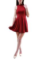 Free People Women's Layla Knit Mini Dress Auburn Red Size XS RRP £ 81 BCF65 - $75.25