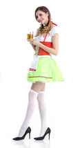 Oktoberfest Beer German Bavarian Waitress Serving Maid Cosplay Costume - $31.13