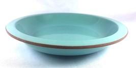"""Linea Tre Depretis Stoneware Turquoise Green Round Rim Soup Bowl 8.5"""" Italy - $23.01"""