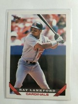 TOPPS 1993 CARD#386 RAY LANKFORD - $0.99