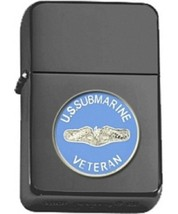 Matte Black US Submarine Veteran Star Lighter - $14.84