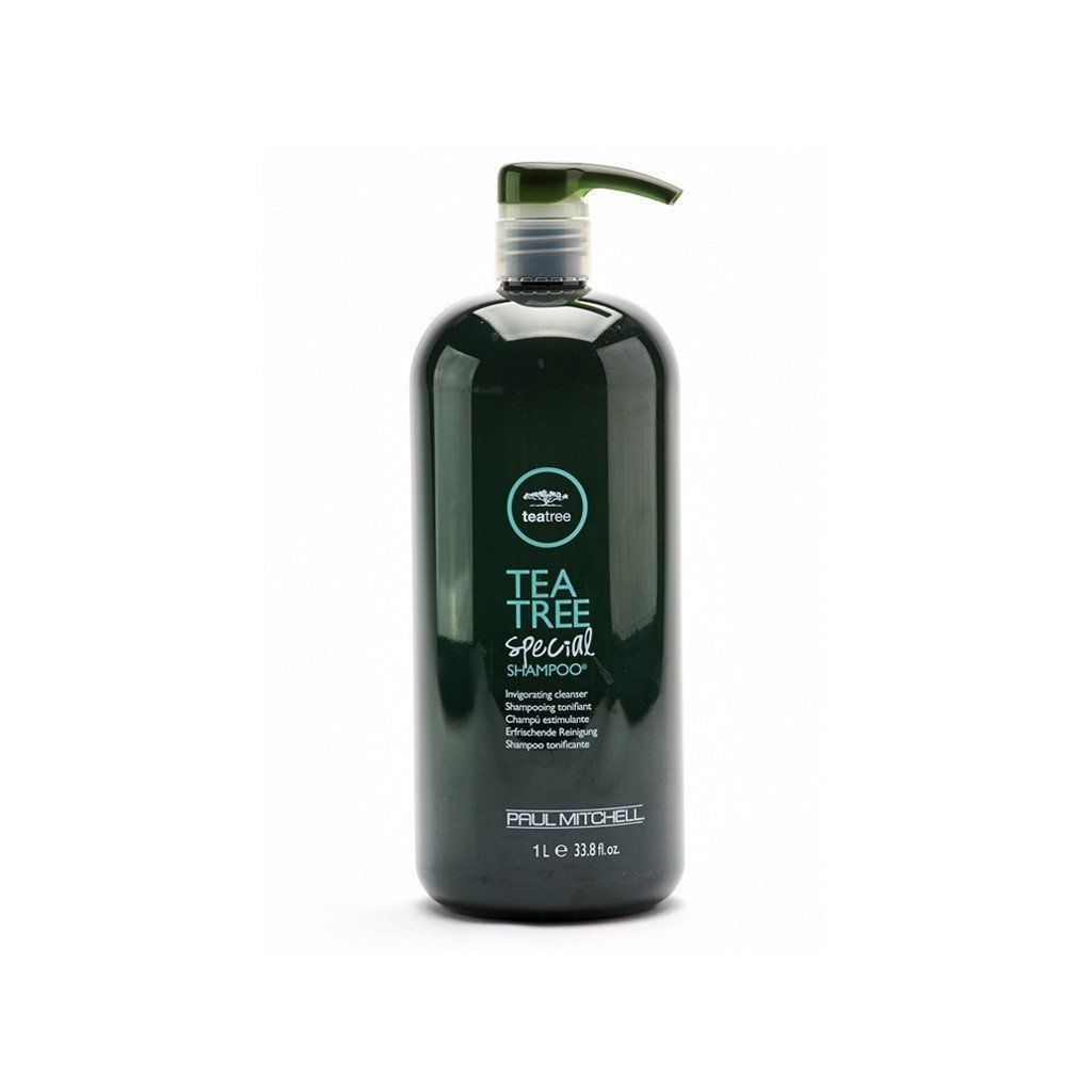 *New Paul Mitchell Tea Tree Special Herbal Shampoo with pump 33.8 oz