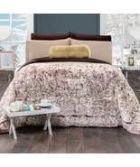 MANCHAS CAFE deluxe Blanket Cobertor de lujo  Intima Hogar  - $135.99