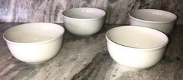Set Of 4 Royal Norfolk Bright White CEREAL/SERVING BOWL-Micro/Dis OK-BRAND New - $39.48