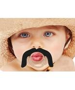 BabyStache Kissable Baby Pacifier Wrangler Black Child Infant Shower Gift - $8.99