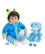 UCanaan Reborn Baby Dolls 18 Inch Soft Baby Doll with Gift Set - $56.20