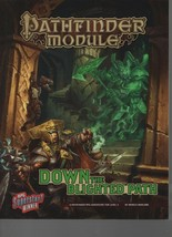 Down the Blighted Path - Pathfinder Module - SC - 2016 Paizo Publishing ... - $14.10