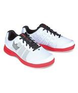 Brunswick Men's Fuze Bowling Shoes, White/Red, Size 10.5 - $1.823,83 MXN