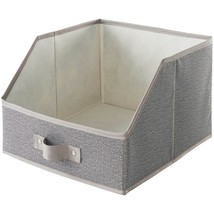 neatfreak 07753 PAT072-004 Harmony Twill Collection Large Easy-View Bin ... - $28.44