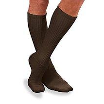 Jobst SensiFoot Knee Length Diabetic Socks 8 -15mmHg - Medium Brown - 110857 - $13.29