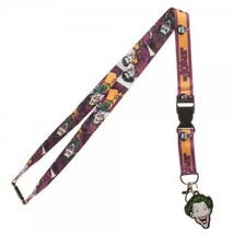The Joker Batman Dc Comics ID Badge Holder Keychain Lanyard - $11.50