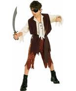 SWASHBUCKLER BOY PIRATE HALLOWEEN COSTUME CHILD SIZE MEDIUM 8-10 - $23.02