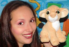 Mattel Disney Authentic Lion King 1993 kissing Nala Plush Stuffed Animal... - $14.01