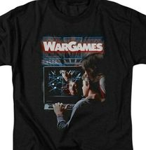 War Games t-shirt retro 80s teenage computer hacker movie graphic tee MGM320 image 3
