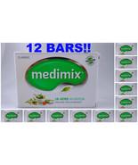 12 BARS Medimix 125grams Classic Ayurvedic Soap 18 Herbs Skin Protection... - $26.00