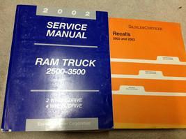 2002 Dodge Ram Truck DIESEL 2500 3500 Service Shop Repair Manual Set FACTORY - $222.70