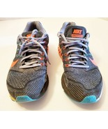 Nike Zoom Structure 18 Womens Hyper Punch/Turquoise 683737-600 Size 9.5 - $20.79