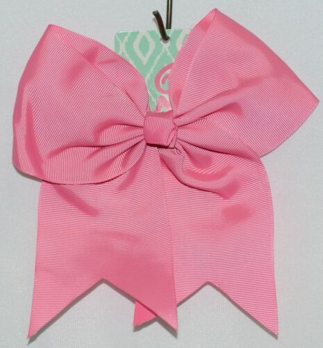 WB M5000HTPK Hot Pink Colored Grosgrain Hair Bow Alligator Clip
