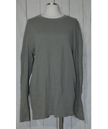 Lacoste Gray Long Sleeve Pull Over Shirt 6 Size Large 100% Cotton - $49.49